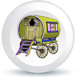 Bow Top Gypsy Caravan